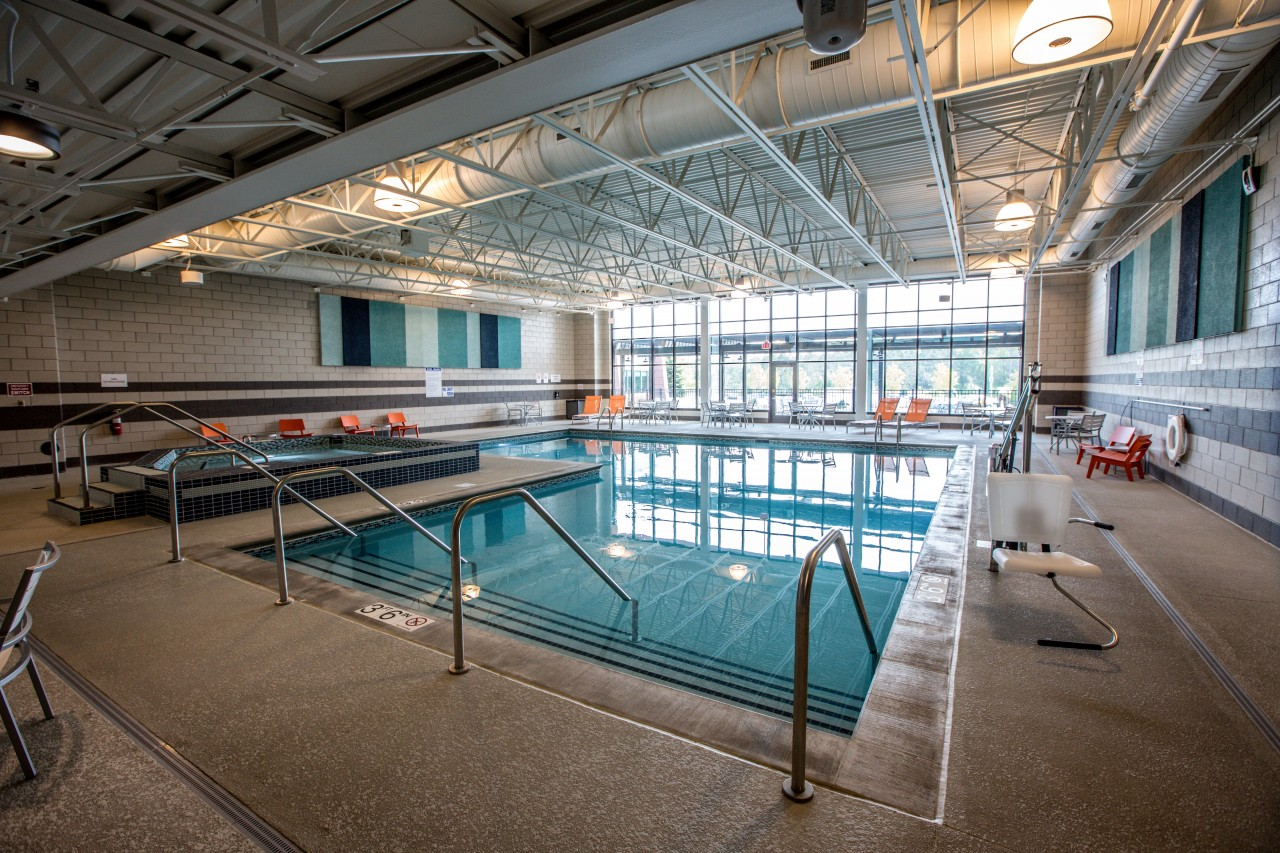 Usaquatics Was Hired By Cuningham Group To Provide Aquatic Design And Engineering For A New Spa Pool At Grand Hinckley Hotel In Hinkley