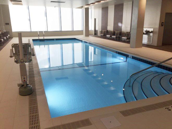 JW Marriott Hotel Indoor Pool Design Project